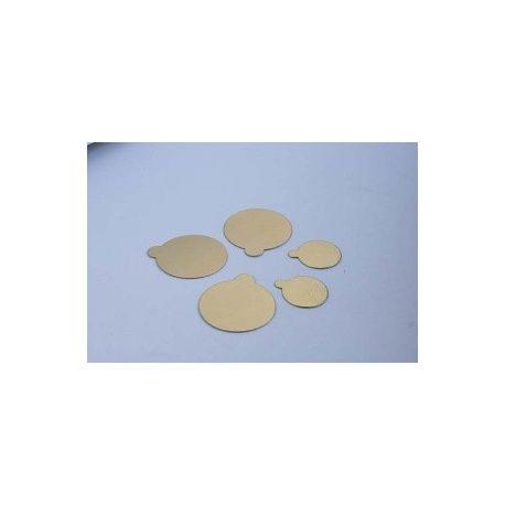 Podložka zlatá 10cm