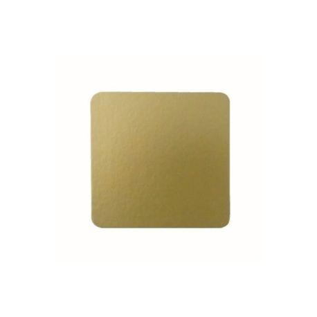 Podložka zlatá 10x10cm