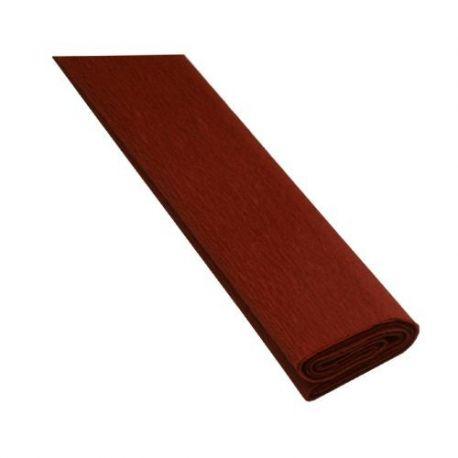 Krepový papier hnedý