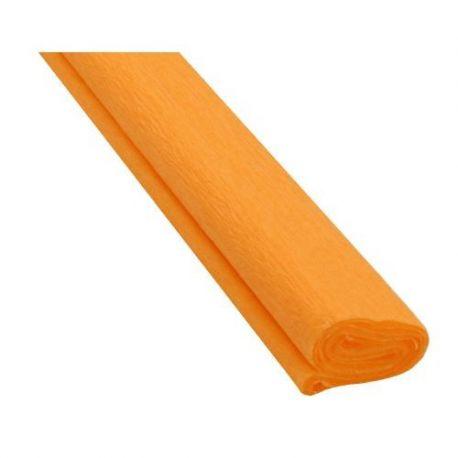 Krepový papier oranžový
