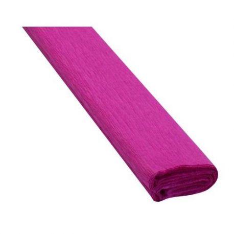 Krepový papier tm. ružový