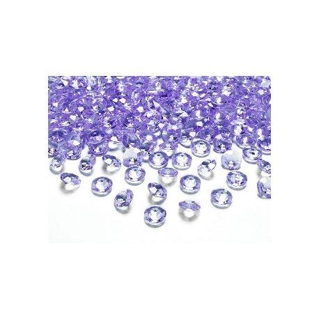 Diamantíky na stôl fialové 12 mm 100ks