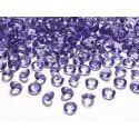 Diamantíky na stôl fialové 12 mm 100 ks