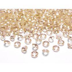 Diamantíky na stôl zlaté 12 mm 100 ks