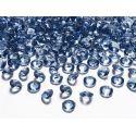 Diamantíky na stôl tmavomodré 12 mm 100 ks