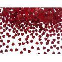 Konfety malé srdiečka červené