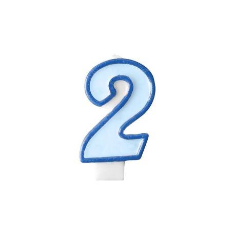 Číslová sviečka č. 2
