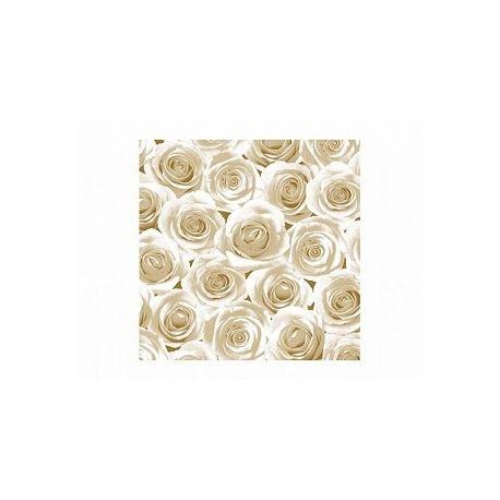 Servítky biele ruže