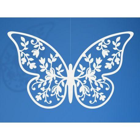 Papierová dekorácia Motýľ