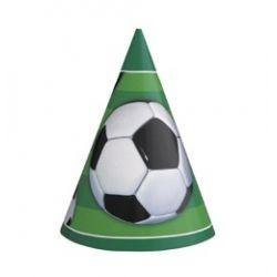 Klobúčiky Futbal 8ks