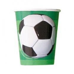 Papierové poháriky Futbal