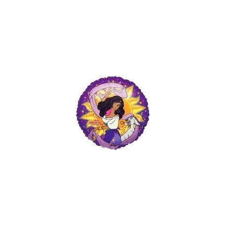 Balón Esmeralda - kruh
