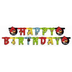 Angry birds party banner 1,8 m