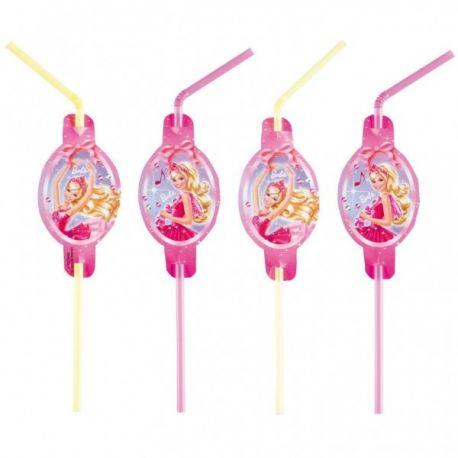 Slamky Barbie 8ks