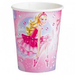 Poháre Barbie 8ks
