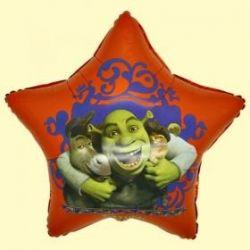 Balón Shrek - hviezda