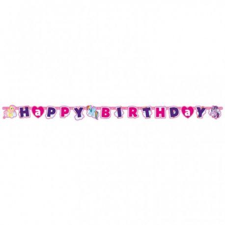 Banner happy birthday My little pony 180x15cm