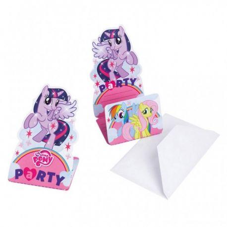 Pozvánky My little pony 8ks