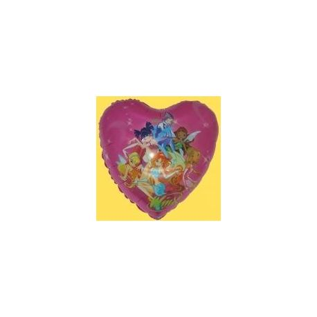 Balón Winx - srdce