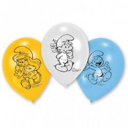 Balóny Šmolkovia 6ks