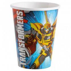 Poháre Transformers 8ks