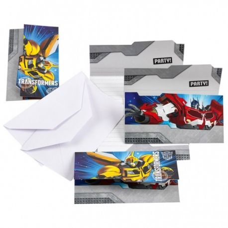 Pozvánky Transformers 6ks