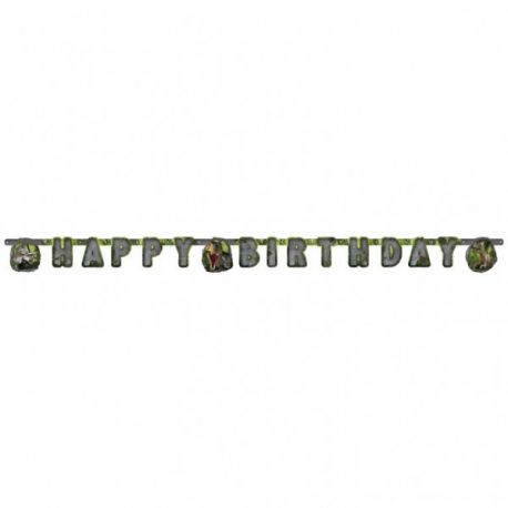 Banner happy birthday Dinosaurus