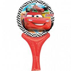 Fóliový balón s rúčkou Cars