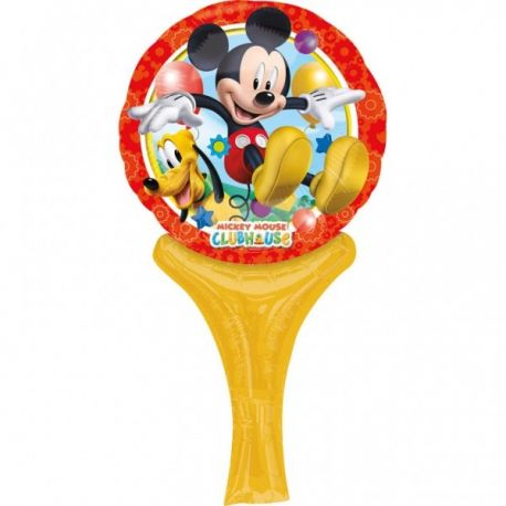 Fóliový balón Mickey Mouse s rúčkou
