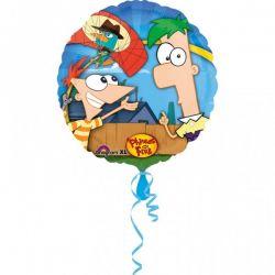 Fóliový balón Phineas a Ferb