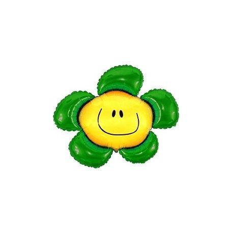 Balón Kvetinka zelená