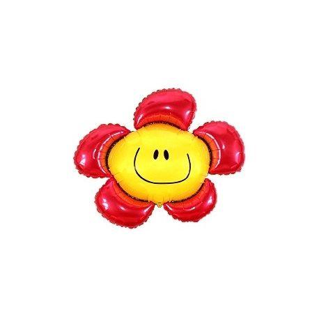Balón Kvetinka červená