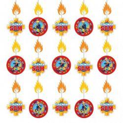 Závesná dekorácia Požiarnik Sam