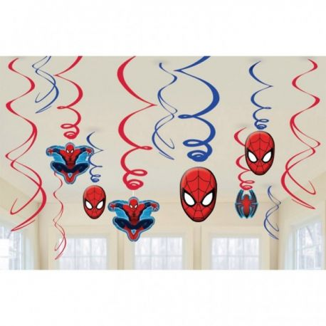 Závesná girlanda Spiderman