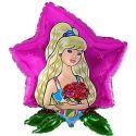 Balón Princezná - ruža