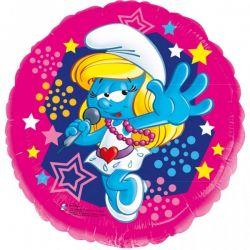 Fóliový balón Šmoulinka