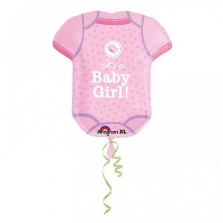 Fóliový balón Baby girl body