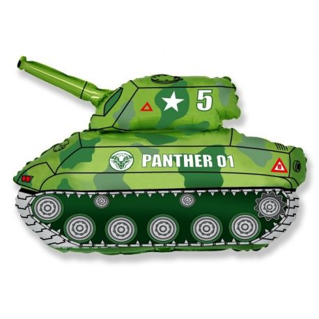 Balón Tank zelený
