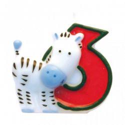 Číslicová sviečka safari 6