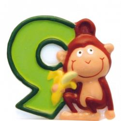 Číslicová sviečka safari 9