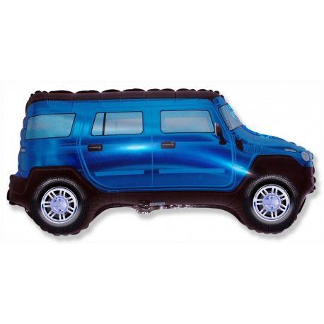 Balón Terénne auto modré