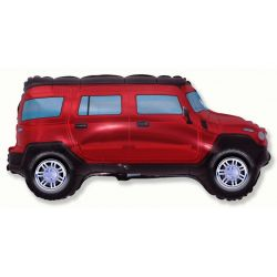 Balón Terénne auto červené