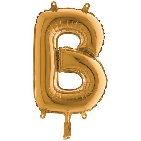 Fóliové písmeno B 36cm