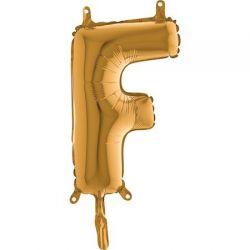 Fóliové písmeno F 36cm