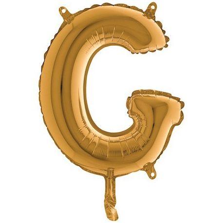 Fóliové písmeno G 36cm