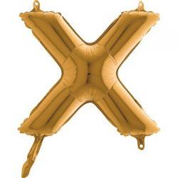 Fóliové písmeno X 36cm