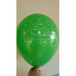 Vianočný balón zelený