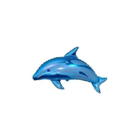 Balón Delfín - modrý, ružový