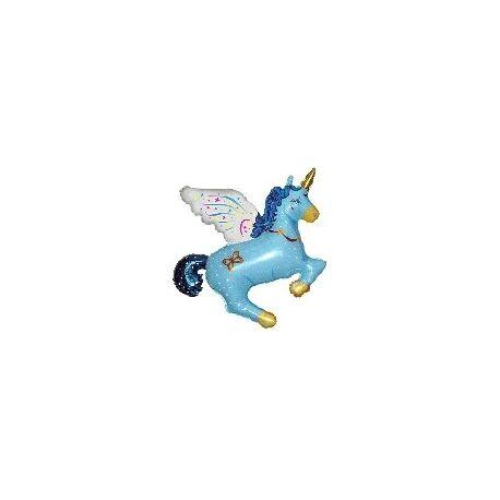 Balón Pegas modrý