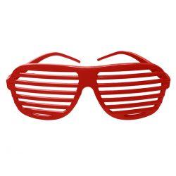 Party okuliare červené